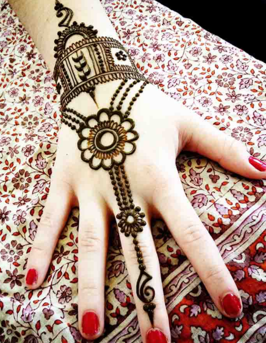 Top 25 Best Simple Mehndi Designs That You Can Try By Yourself Folder