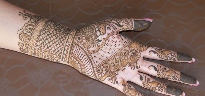 Classical Indian Henna Folder