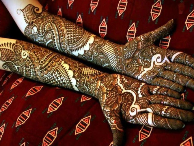 Mehndi Bridal Design Latest : Top fabulous bridal mehndi designs folder