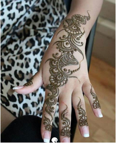 Top 35 Fabulous Bridal Mehndi Designs 2018 Folder