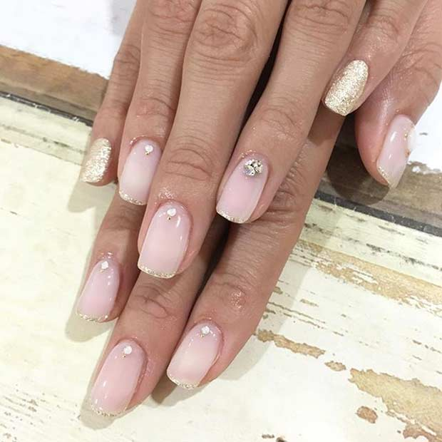Top 25 Wedding Nail Art Designs to Make your Big Day Special - Folder