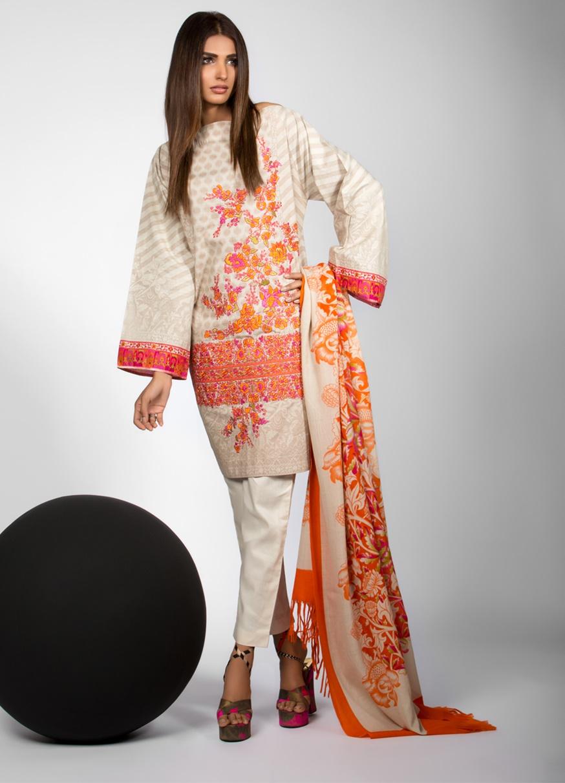 18dad2ad6 25 Elegant Winter Dresses For Pakistani Girls for 2017-2018 - Folder