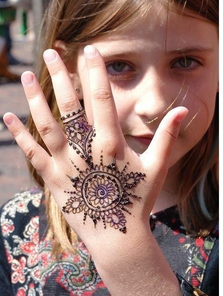Top 25 Alluring Mehndi Designs For Kids Folder