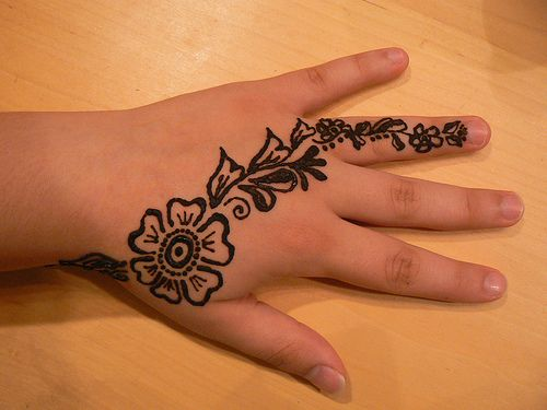 Simple Mehndi Designs For Hands 2017: Top 25 Alluring Mehndi Designs For Kids - Folderrh:folder.pk,Design