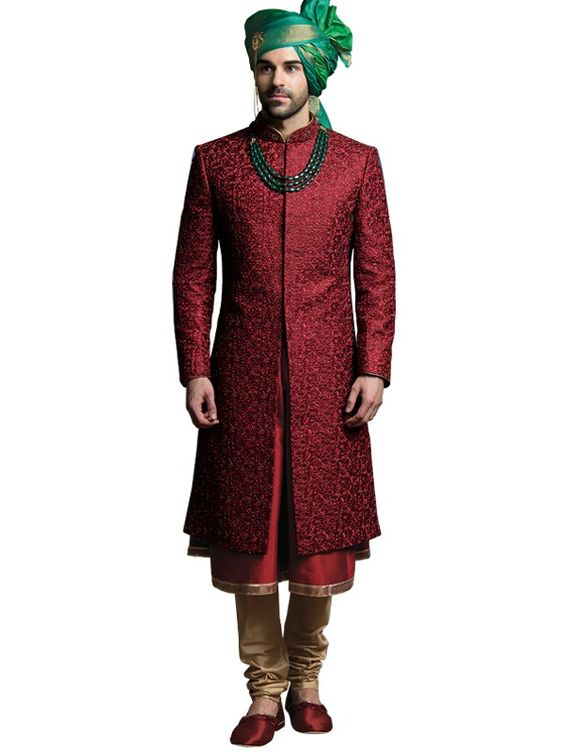 25 Amazing Wedding Sherwani Designs For Men Folder