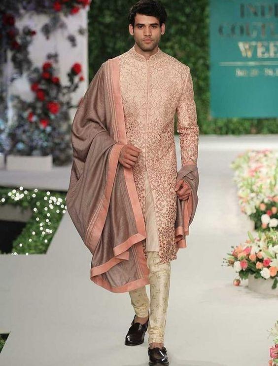 Black Sherwani Designs