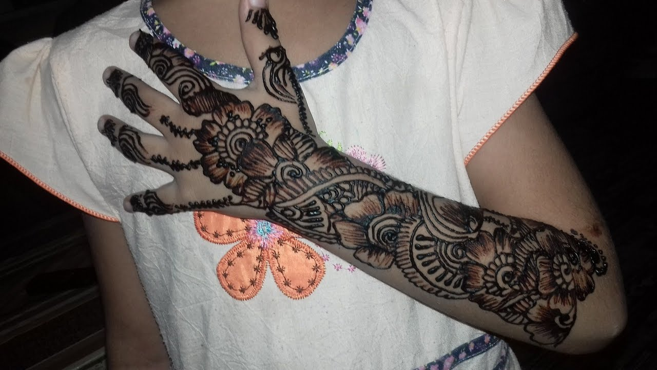 Intricate Henna Designs: Top 25 Alluring Mehndi Designs For Kids