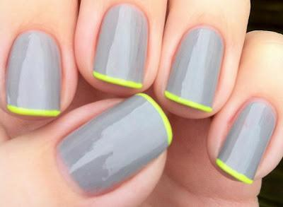 The Ideal Tips Without Apparatuses Or Tape By Painting Just Highest Point Of Her Nails In Case Youre Endeavouring This Simple Nail Configuration