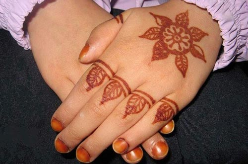 Top 25 Alluring Mehndi Designs For Kids - Folder