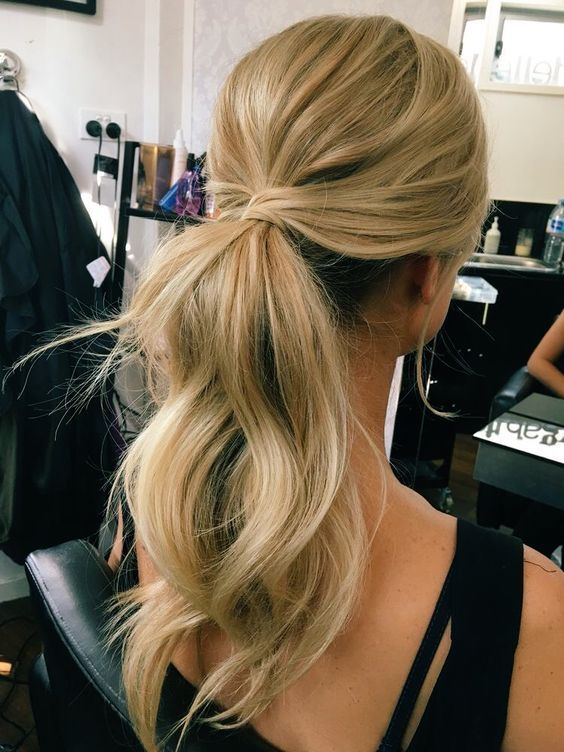 Formal Ponytail