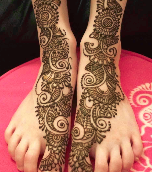 25 Fabulous Foot Mehndi Designs For Your Next Event Folder