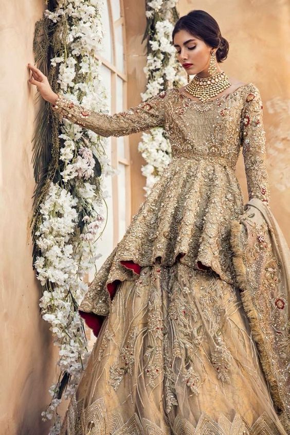 wedding dresses 2018 in pakistan