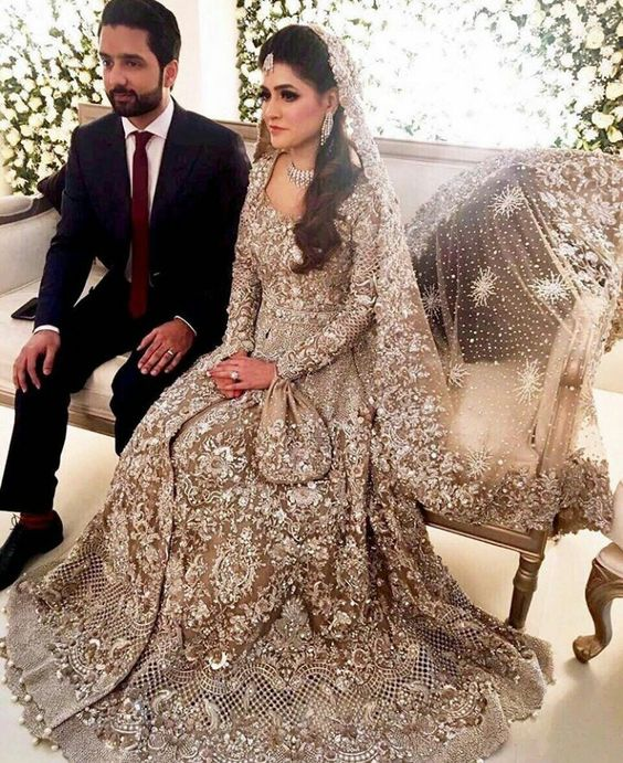 6dc0b5c1d4 This is another gorgeous walima dress which looks striking. This is a one color  dress but with the most beautiful work on top of it makes it look even more  ...
