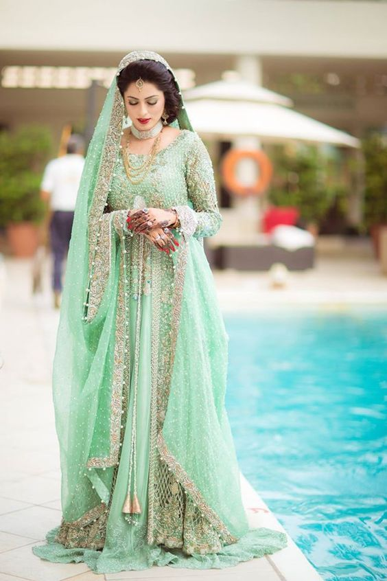 ccb7ef4bc 30 Stunning Pakistani Bridal Walima Dresses for Your Inspiration ...
