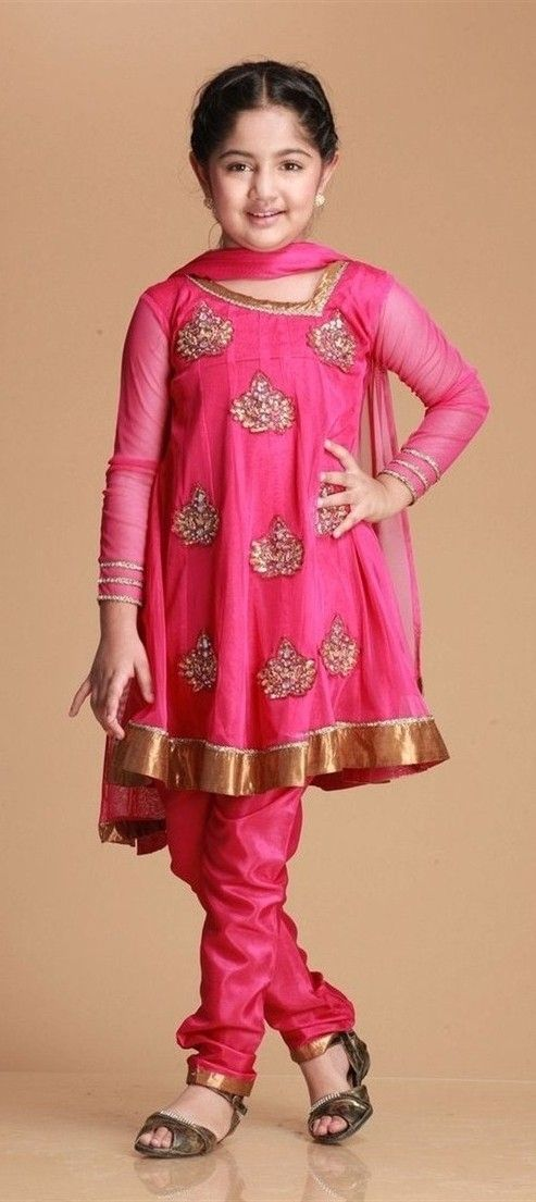 20 Beautiful Pakistani Kids Party Wear Dresses - Folder