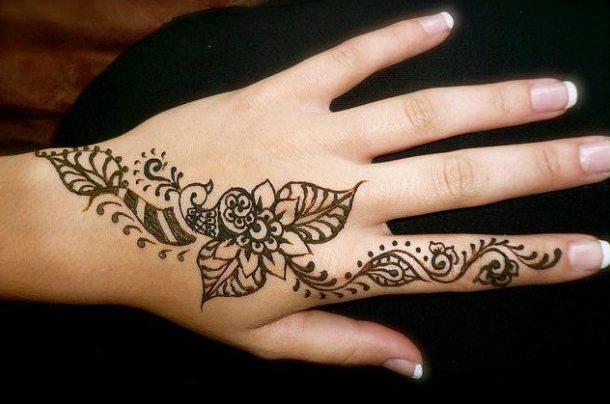 20 Best Eid Henna Designs For Hands 2018 Folder