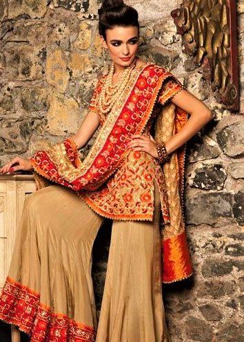 4cf99acb9 20 Latest Sharara Style Dress Designs 2018 - Folder