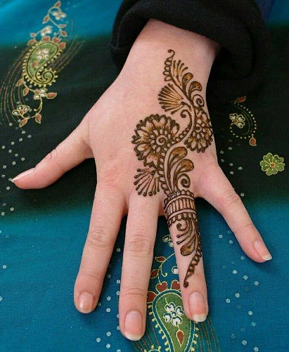 20 MOST BEAUTIFUL RING STYLE MEHNDI DESIGNS 2018