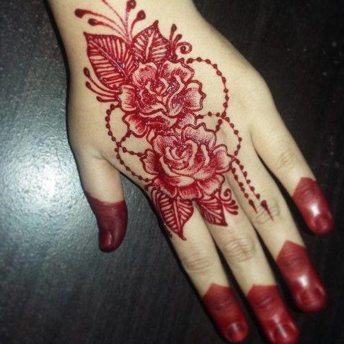20 Beautiful Rose Style Mehndi Designs 2018 Folder