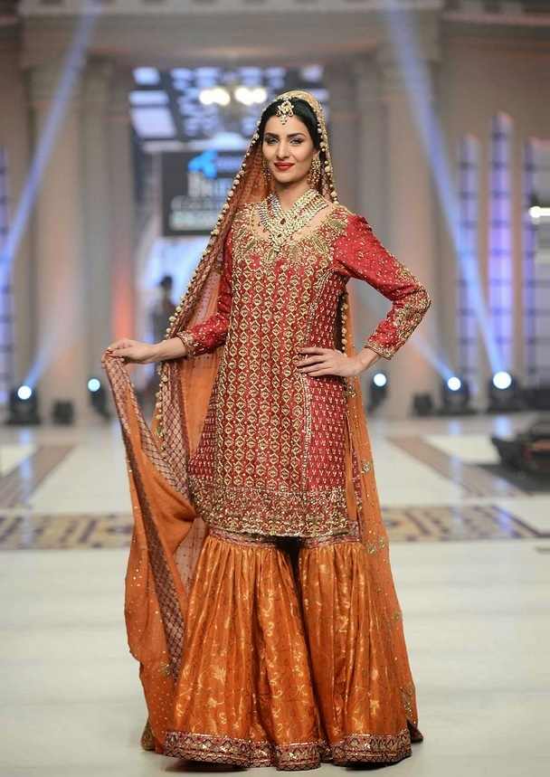 20 Latest Sharara Style Dress Designs 2018 - Folder