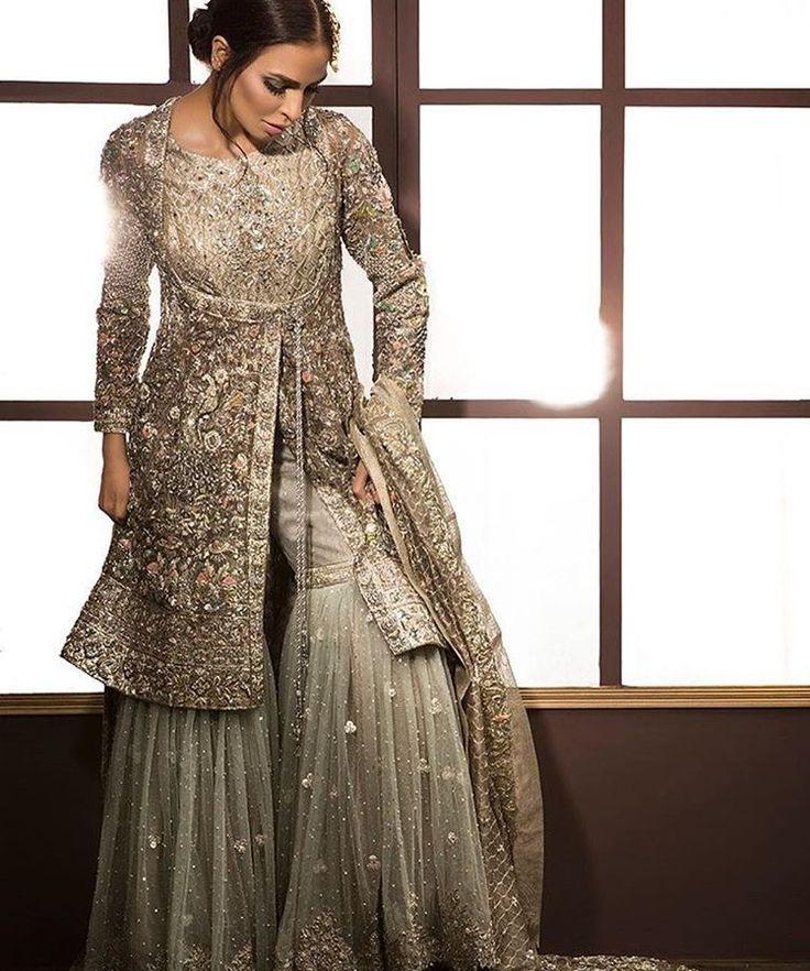 20 Latest Sharara Style Dress Designs 2018 Folder