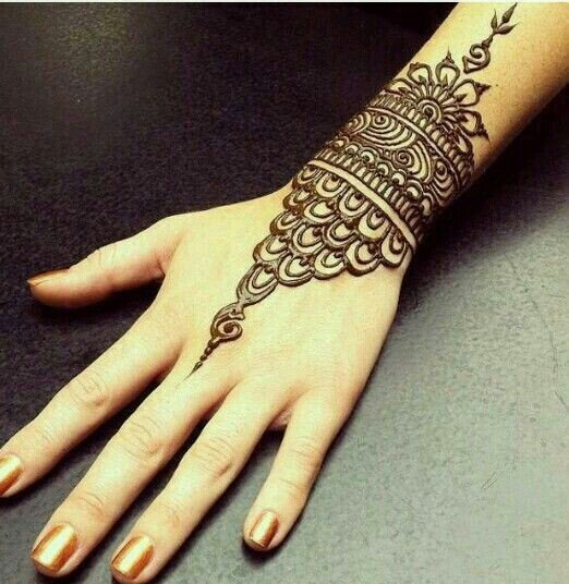 Best New Bracelet Mehndi Design 2017 For Your Wrists