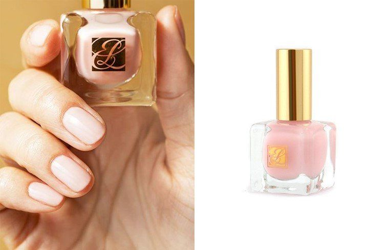 Estee Lauder Pure Color Nail Lacquer in Ballerina Pink - Folder